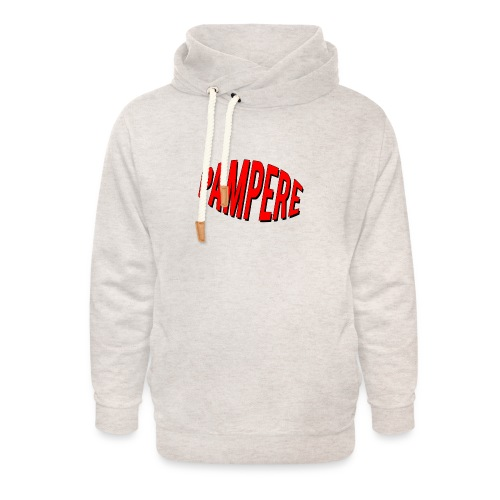 pampere - Bluza z szalowym kołnierzem unisex