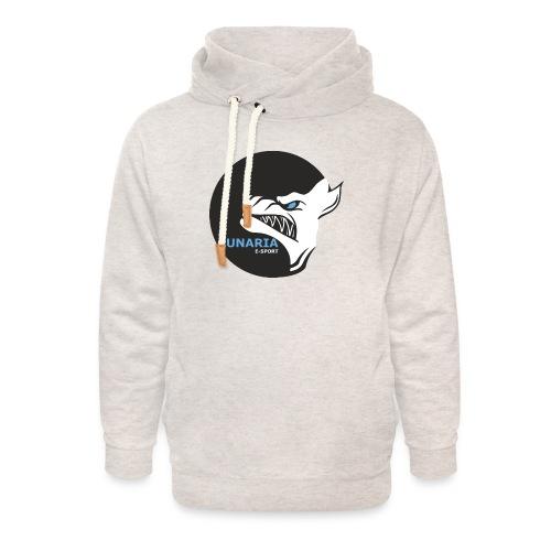 Lunaria_Logo tete pleine - Sweat à capuche cache-cou unisexe