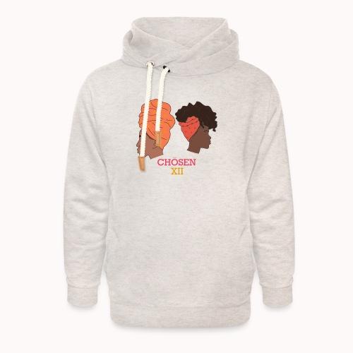Headwrapped Princesses - Unisex sjaalkraag hoodie