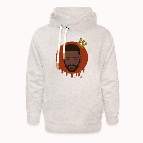 Black King - Unisex sjaalkraag hoodie
