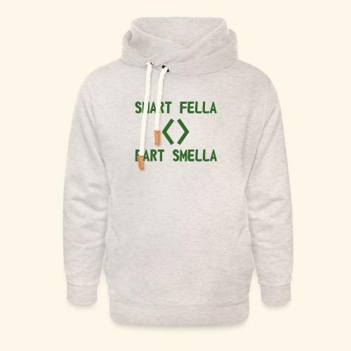 Smart fella - Felpa con colletto alto unisex