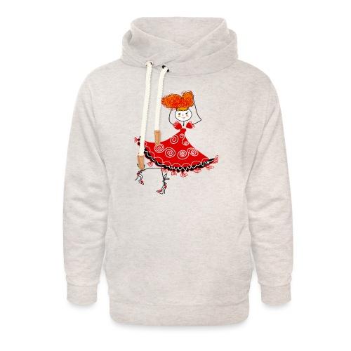 Ballerina - Felpa con colletto alto unisex