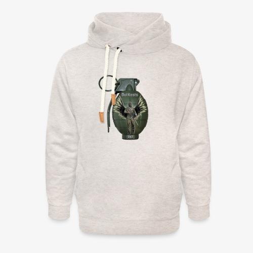 grenadearma3 png - Unisex Shawl Collar Hoodie