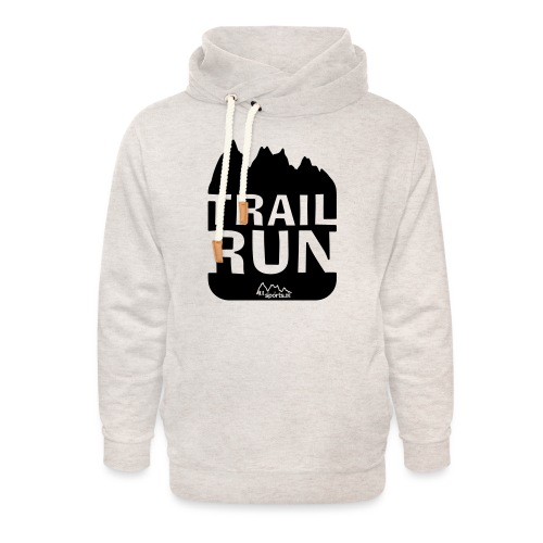 Trail Run - Unisex Schalkragen Hoodie