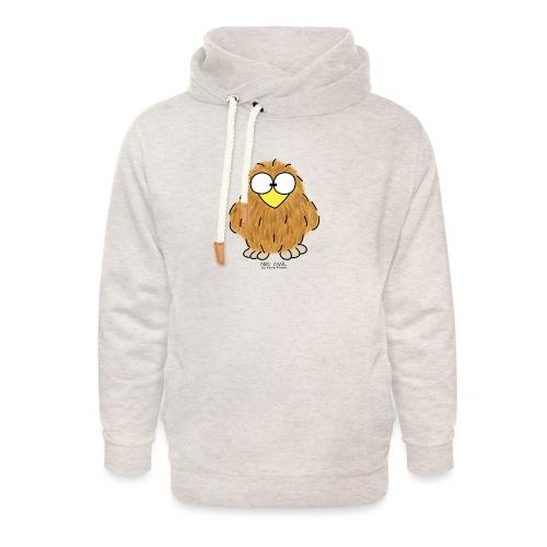 Niki Owl - Unisex Shawl Collar Hoodie