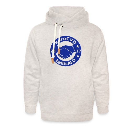 Joint EuroCVD-BalticALD conference womens t-shirt - Unisex Shawl Collar Hoodie