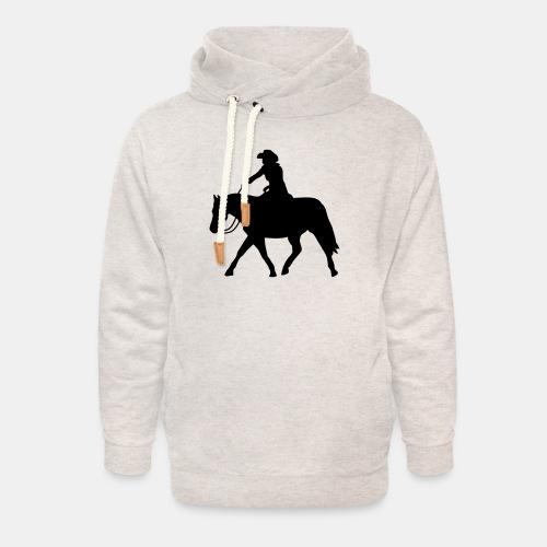Ranch Riding extendet Trot - Unisex Schalkragen Hoodie