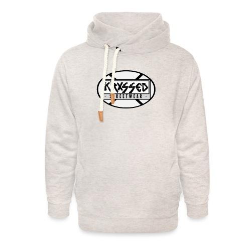 KRXSSED BASIC II - Unisex sjaalkraag hoodie