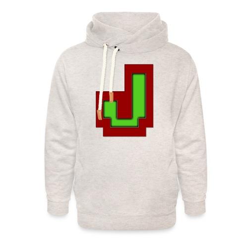 Stilrent_J - Unisex hoodie med sjalskrave