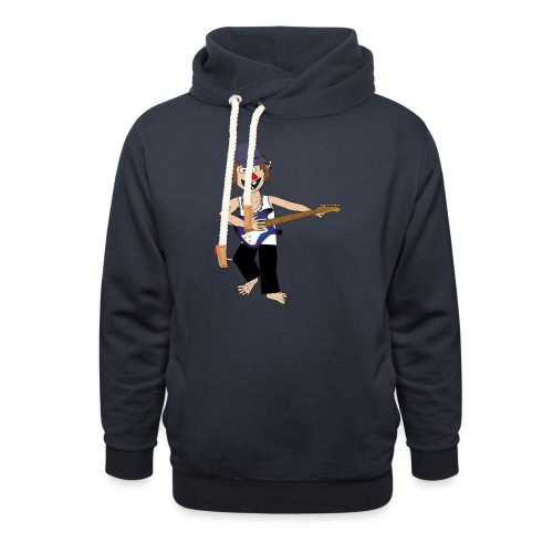 Baby trold - Unisex hoodie med sjalskrave