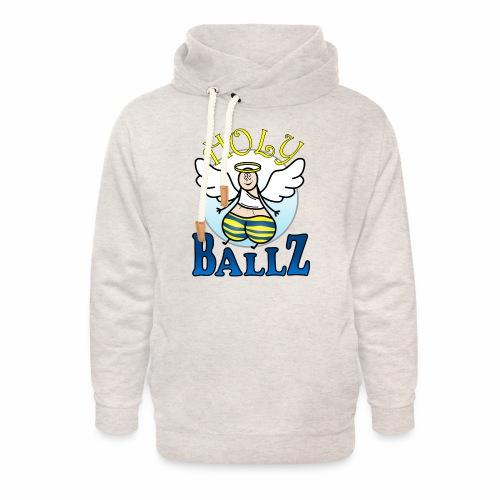 Holy Ballz Charlie - Unisex Shawl Collar Hoodie