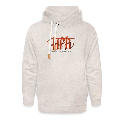 HFR - Logotipo fatto a mano - Felpa con colletto alto unisex