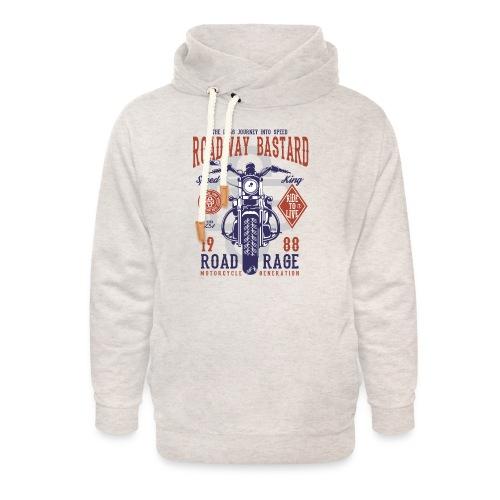 Roadway Bastard - Unisex sjaalkraag hoodie