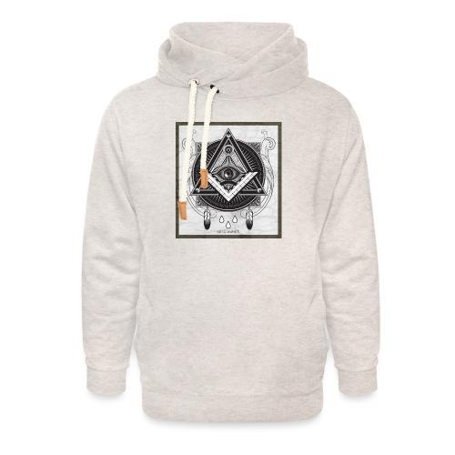 Illuminati - Sweat à capuche cache-cou unisexe