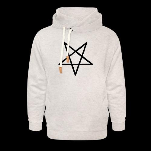 Pentagram2 png - Unisex Schalkragen Hoodie
