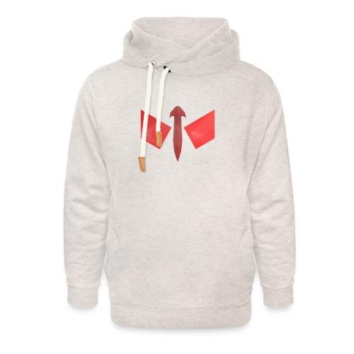 butterfly-png - Unisex sjaalkraag hoodie