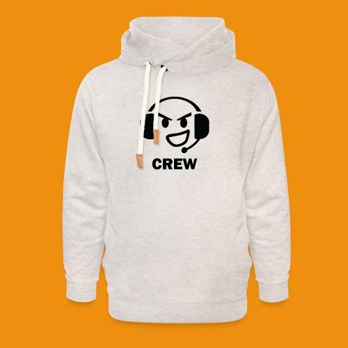 T-shirt-front - Unisex hoodie med sjalskrave