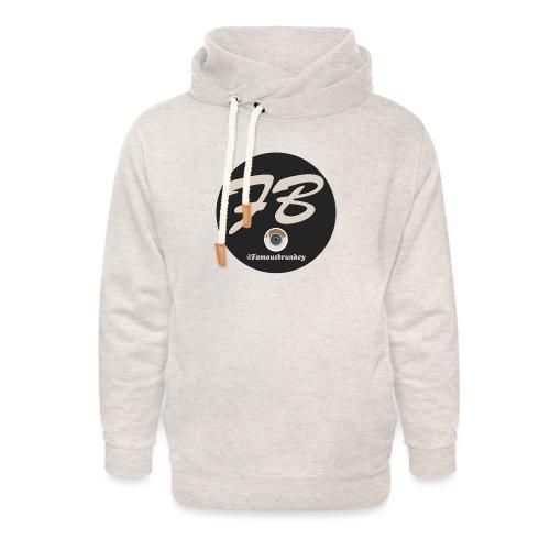 TSHIRT-INSTATUBER-METLOGO - Unisex sjaalkraag hoodie
