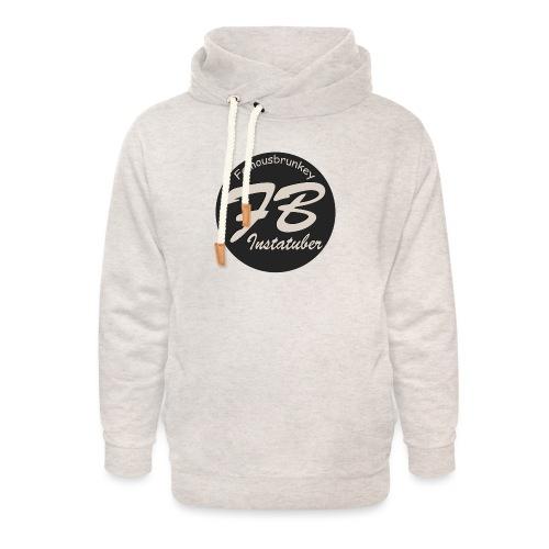 TSHIRT-YOUTUBER-EXTRA - Unisex sjaalkraag hoodie