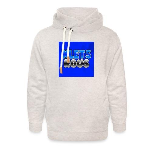 Kletskous Muismat - Unisex sjaalkraag hoodie