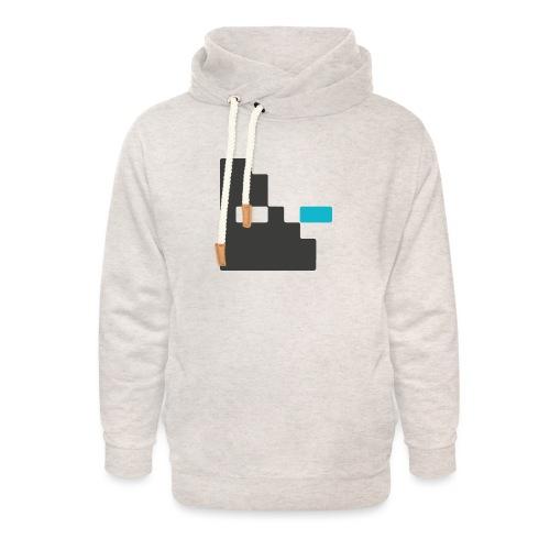 Mortu Logo - Unisex sjaalkraag hoodie