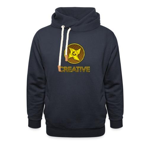 Creative logo shirt - Unisex hoodie med sjalskrave