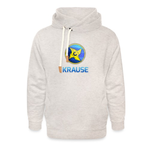 Krause shirt - Unisex hoodie med sjalskrave