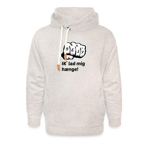BEJY SHOP - Unisex hoodie med sjalskrave