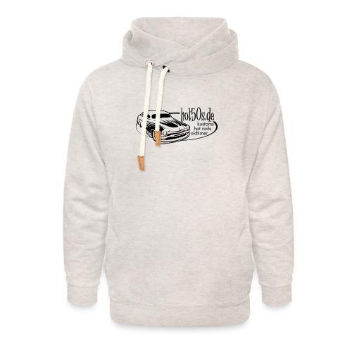 Hot50s Logo - Unisex Schalkragen Hoodie
