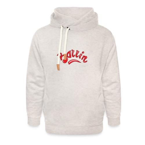 Ballin - Unisex sjaalkraag hoodie
