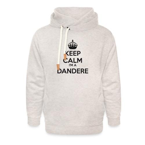 Dandere keep calm - Unisex Shawl Collar Hoodie