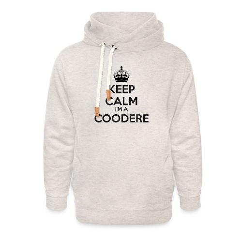 Coodere keep calm - Unisex Shawl Collar Hoodie