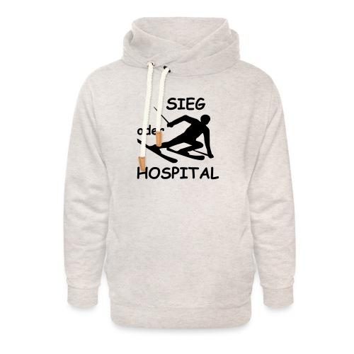 Sieg oder Hospital - Unisex Schalkragen Hoodie