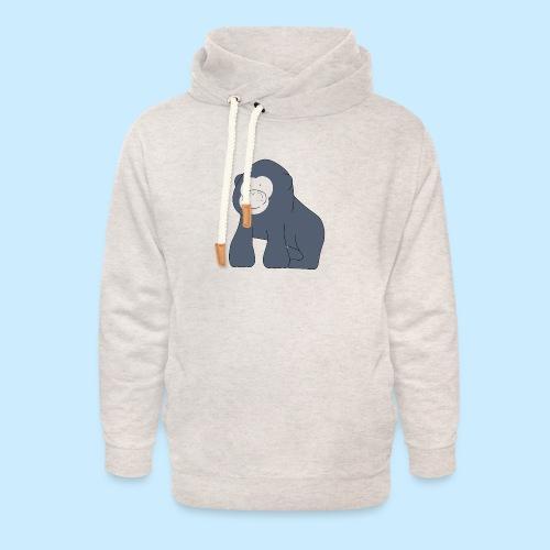 Baby Gorilla - Unisex Shawl Collar Hoodie