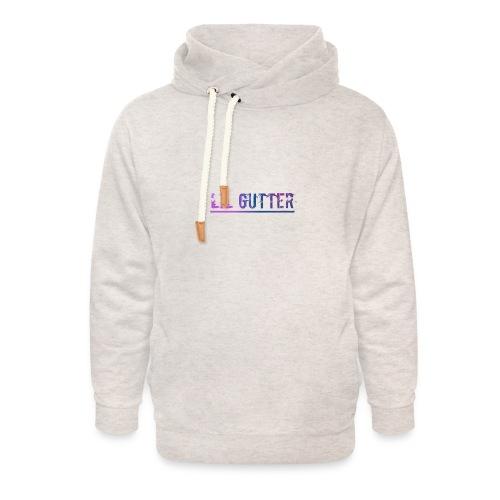 Lil gutt - Unisex hoodie med sjalskrave