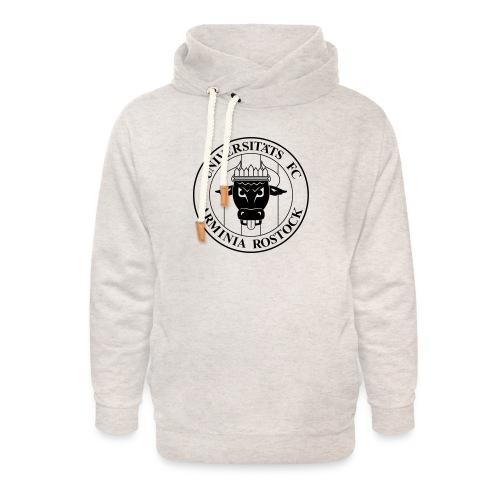 UFC Logo nur schwarz - Unisex Schalkragen Hoodie