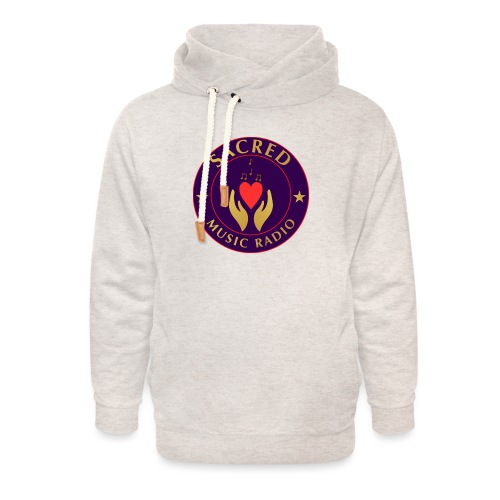 Spread Peace Through Music - Unisex Shawl Collar Hoodie