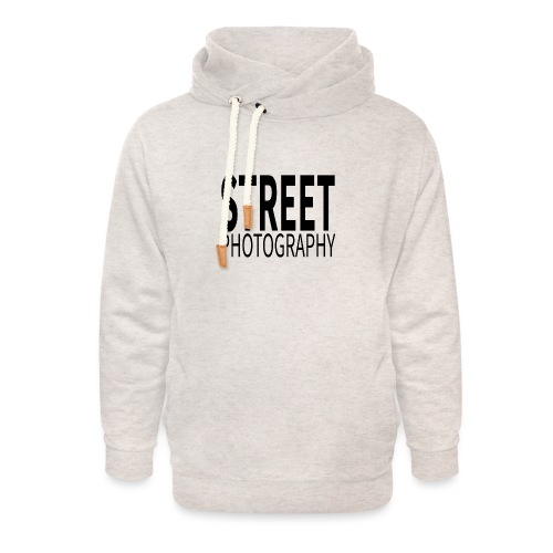 Street photography Black - Felpa con colletto alto unisex