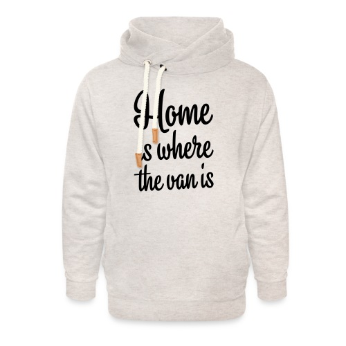 Home is where the van is - Autonaut.com - Unisex Shawl Collar Hoodie