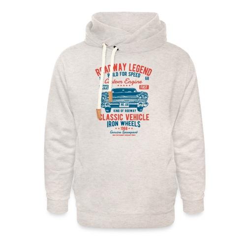Roadway Legend - Unisex sjaalkraag hoodie