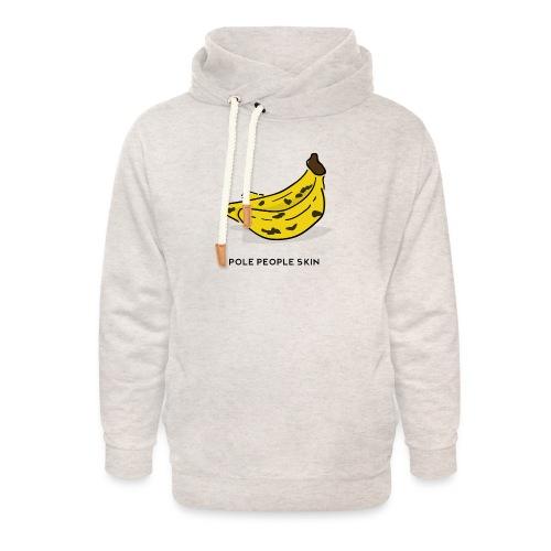 banana pole skin - Sudadera con capucha y cuello alto unisex