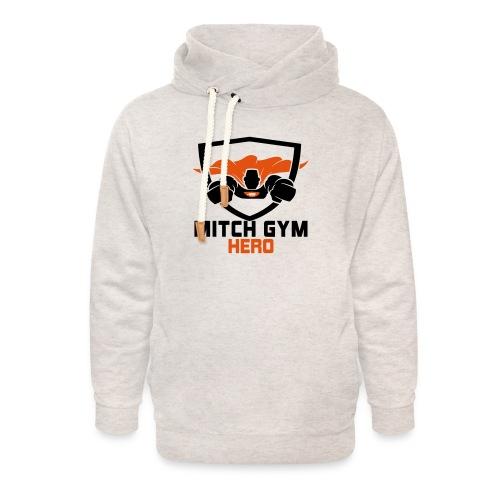 FLYING HERO - Unisex sjaalkraag hoodie