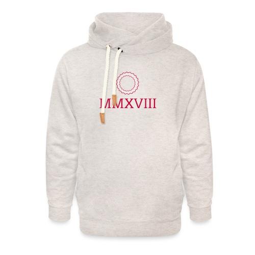 MMXVIII - logo - Sweat à capuche cache-cou unisexe