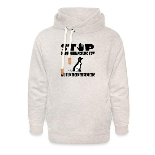 sd vzw - Unisex sjaalkraag hoodie