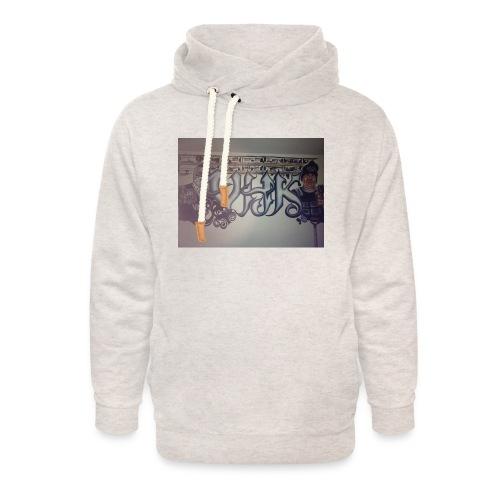 Værebro - Unisex hoodie med sjalskrave