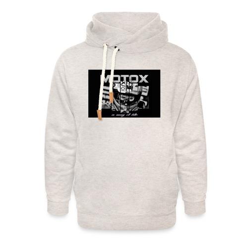Motox a way of life - Unisex sjaalkraag hoodie