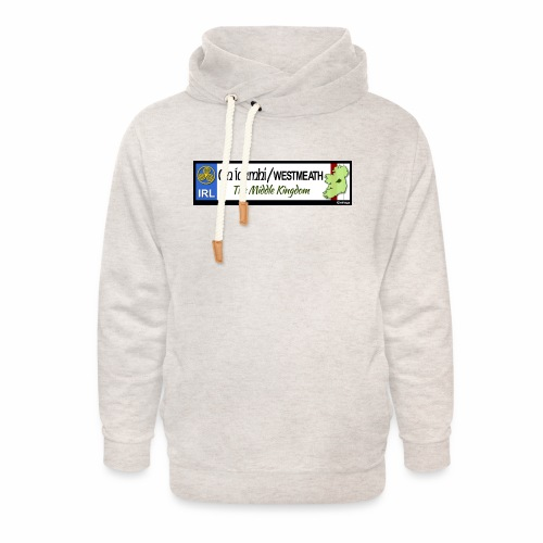 WESTMEATH, IRELAND: licence plate tag style decal - Unisex Shawl Collar Hoodie