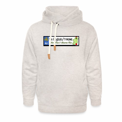 TYRONE, NORTHERN IRELAND licence plate tags decal - Unisex Shawl Collar Hoodie