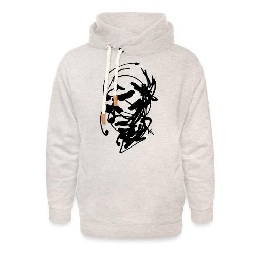 face - Unisex Shawl Collar Hoodie