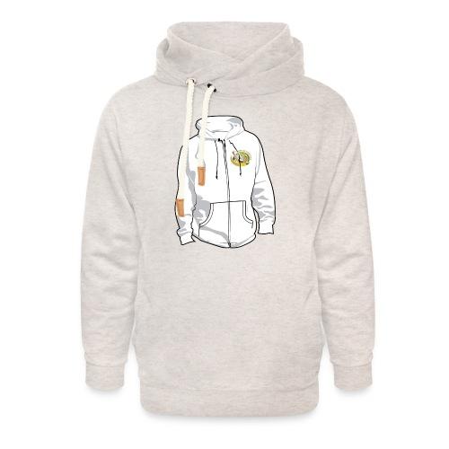 hoodyfront - Unisex sjaalkraag hoodie